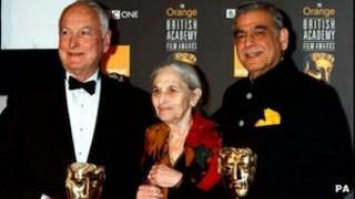 Ruth Prawer Jhabvala with James Ivory and Ismail Merchant