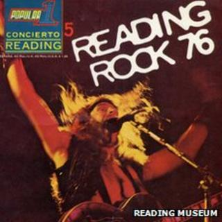 American rock guitarist Ted Nugent pictured on the front cover of Reading Rock 76