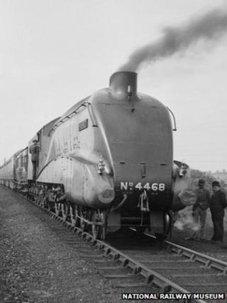 The Mallard locomotive