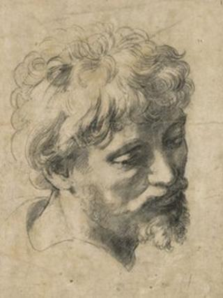 Head of a Young Apostle