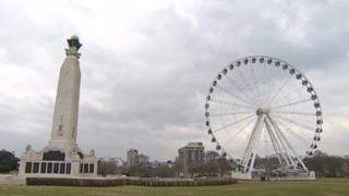 Wheel of Plymouth, The Hoe