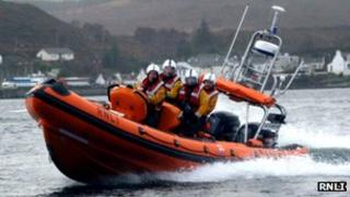 Atlantic 85 class lifeboat (Kyle of Lochalsh)