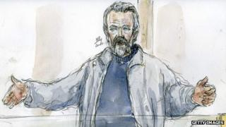 Toni Musulin depicted in a courtroom sketch in 2010