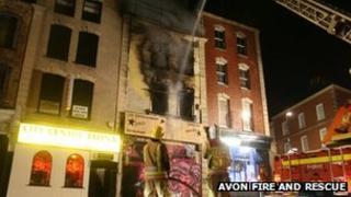 Stokes Croft fire
