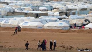 Zaatari refugee camp (30 January 2013)