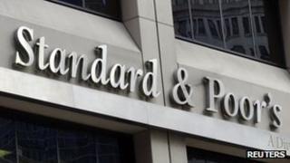 Standard & Poor's building in New York
