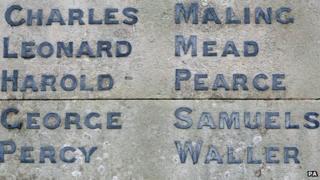 Shepreth war memorial, Cambridgeshire