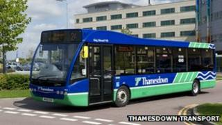 Thamesdown bus