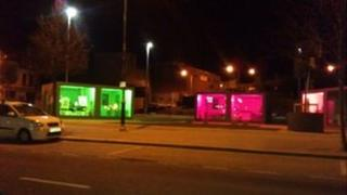 Art pods in Bangor