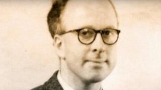A younger Peter Higgs