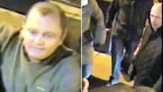 CCTV images of two men police want to trace