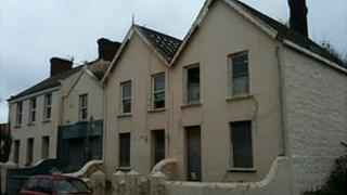 Vale Avenue cottages owned by Guernsey Electricity