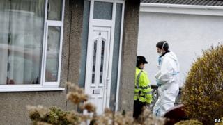 Lancaster crime scene