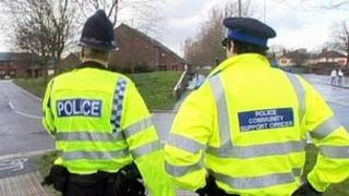 Police officer and PCSO