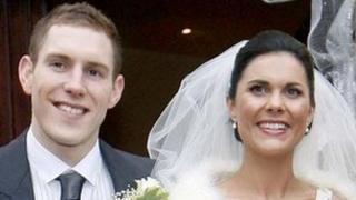 John and Michaela McAreavey on their wedding day