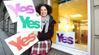 Yes Scotland launched its campaign for independence in May 2012