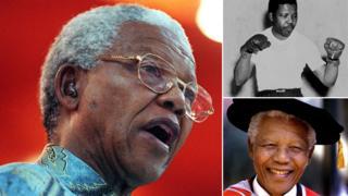 Amashusho ya Nelson Mandela