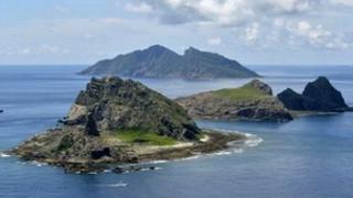 File photo: Diaoyu islands, 2 September 2012