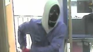 Chatham armed robber CCTV
