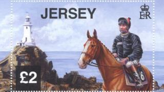 Jersey Post £2 Corbiere stamp