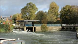 Design for Osney hydro plant