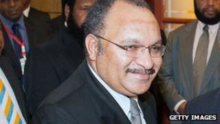Peter O'Neill, Prime Minister of Papua New Guinea