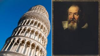 Leaning Tower of Pisa, Galileo
