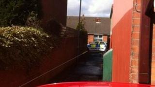East Belfast murder scene