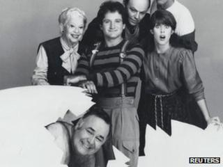 Cast of Mork and Mindy