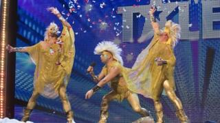 Hot Gusset perform on Britain's Got Talent