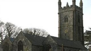 St Stythians Church near Redruth is is in need of urgent repair