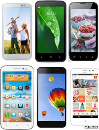 Amos smartphones