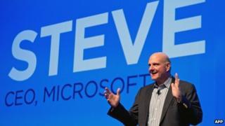Steve Ballmer, CEO, Microsoft