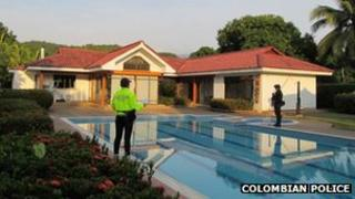 Luxury home seized in Melgar, Colombia