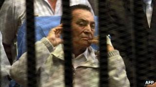 Hosni Mubarak (15/04/13)