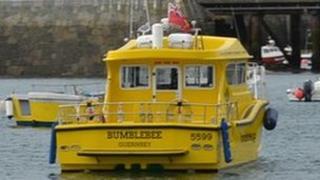 Bumblebee's catamaran