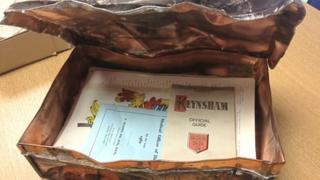Time capsule found in Keynsham