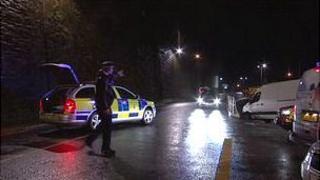 Jersey Police road block following false alarm at La Collette