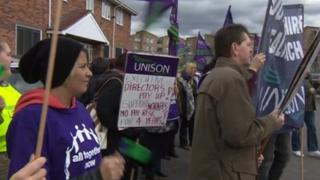 Unison demonstration at Thera Trust
