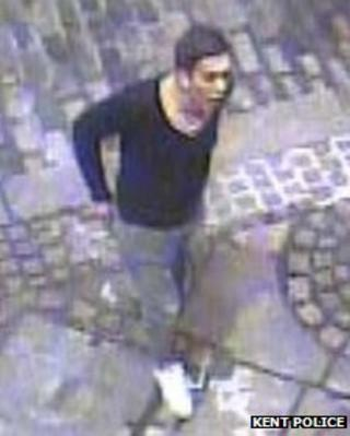 CCTV image of Josh Thomas