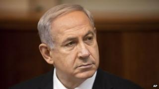 Israeli Prime Minister Benjamin Netanyahu in a March 10, 2013 file photo,