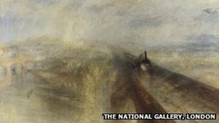 Rain, Steam, and Speed - The Great Western Railway 1844, JMW Turner