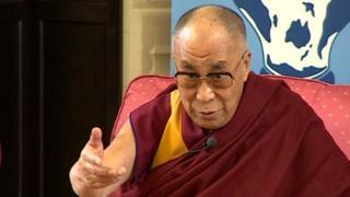 Dalai Lama in Cambridge