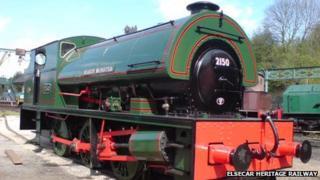 Mardy Monster locomotive