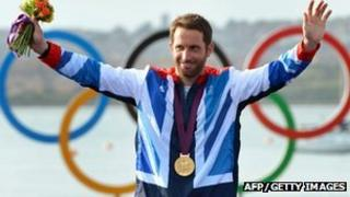Ben Ainslie at 2012 Olympic Games