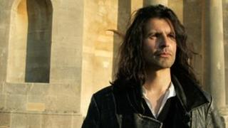 Composer Andy Garbi at Croome Park