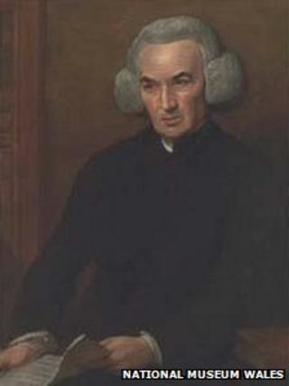 Richard Price; portrait by Benjamin West (1728–1820)