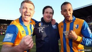 John Dempster, Paul Cox and Matt Green