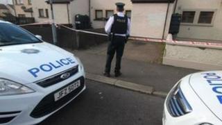 Ballycastle murder scene
