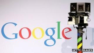 Google Street View camera